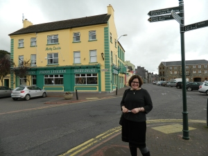 Aine in one of her favorite Irish towns - Youghal, County Cork, 2012