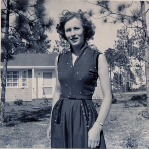 Maureen in 1953