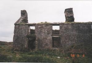 A Baurgorm farmhouse in ruins -- photo courtesy of Donal Collins