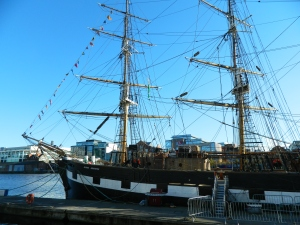 Jennie Johnston Famine Ship, Dublin (photo by Regan McCormack)