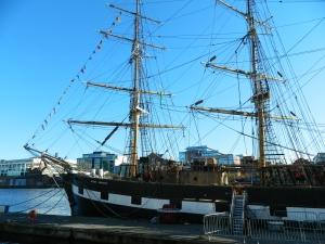Jennie Johnston Famine Ship, Dublin (photo by Regan McCormack)
