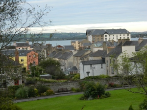 Youghal from the Collegiate Gardens (2012, Regan McCormack)