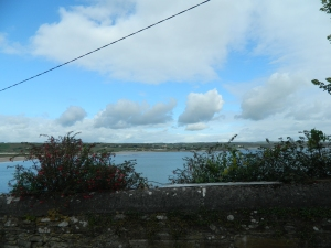 View from Ardmore Pottery