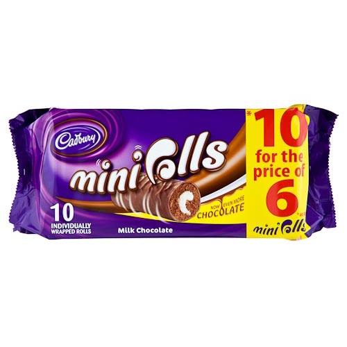 Cadburys Mini Roll Advert i Love Cadbury Mini Rolls