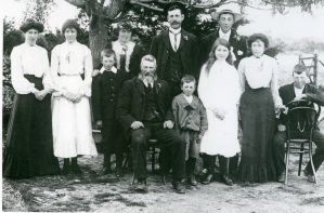 Hugh Brosnan Family photograph from www.EastKerryRoots.com