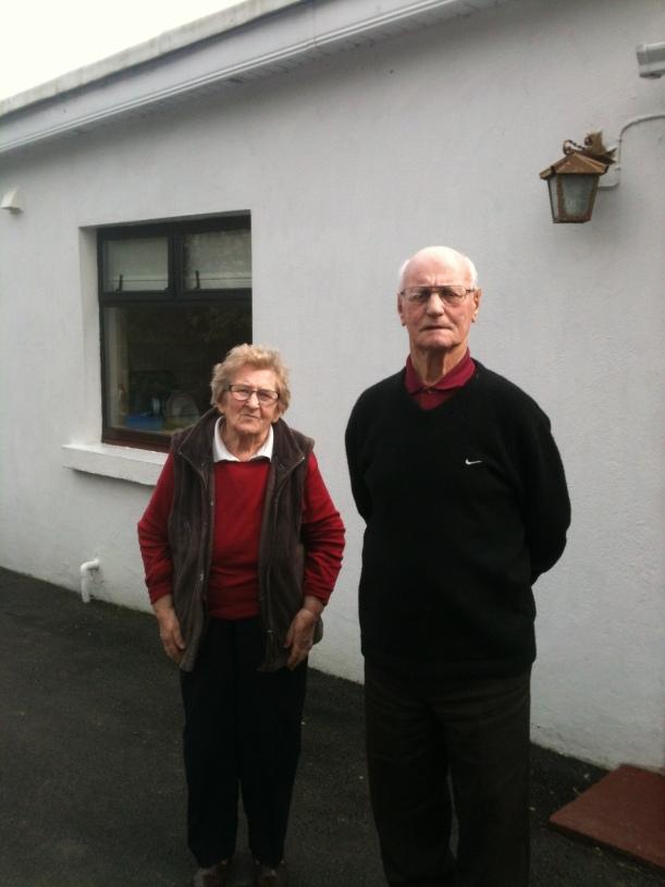Maura and Paddy