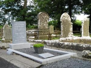 Yeats' Grave at Drumcliff churchyard, Sligo