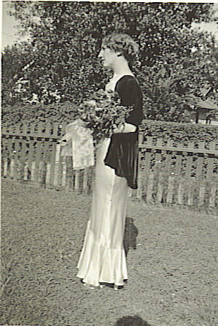 Agnes McCormack, High School Graduation 1932