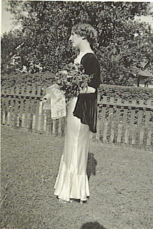 Agnes McCormack, High School Graduation 1932
