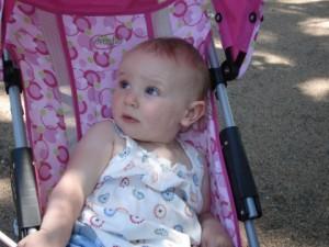 Maryn at age one