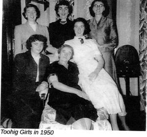 Toohig Girls 1950