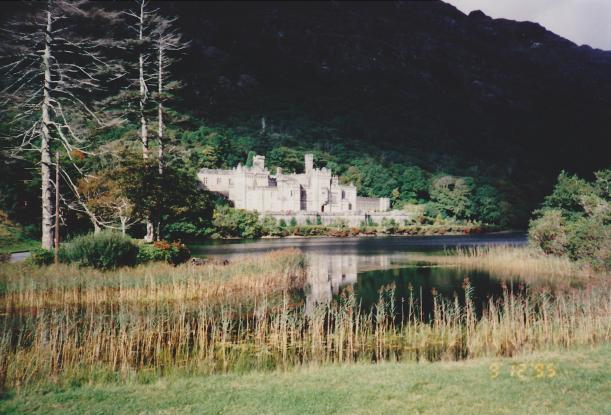 Kylemore Abbey in 1995 (photo R. McCormack)