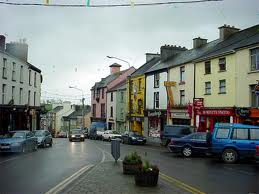 Present-day Milltown, County Kerry
