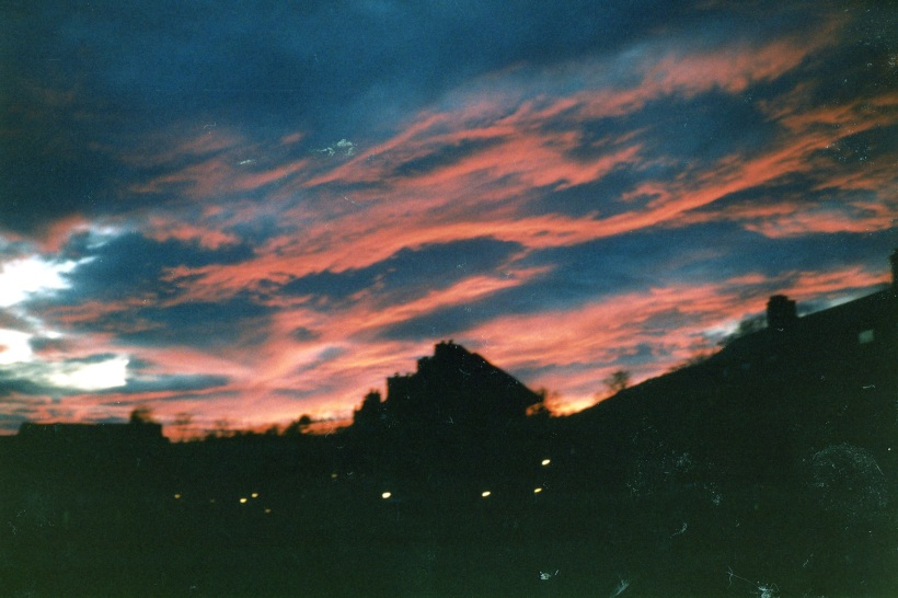 Sunset, White Mountains, New Hampshire